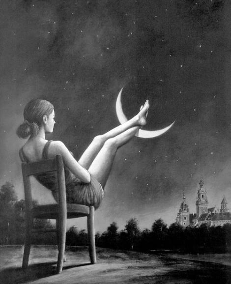descansar conla luna