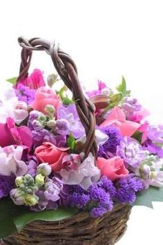 hermoso centro de flores