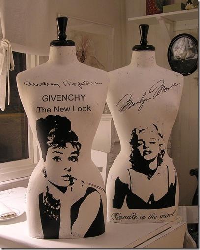 Marilyn o Audrey