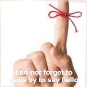 Prometo,  no olvidarme de pasar a saludar :))