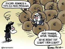 La evasión de lo robado , ha sido su único independentismo. Patriota catalán de pacotilla!
