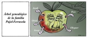Manzana podrida.