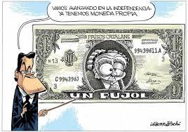 Moneda independentista.