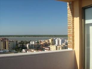 Vista desde el hotel Guadalquivir, S. Lucar de Barrameda-Cádiz