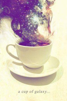 café con la magia del encuentro